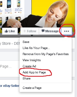 how to add facebook questions app